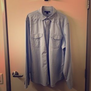 Banana Republic Western Style Button Down Shirt